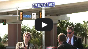 Dee Howard Way Dedication Video