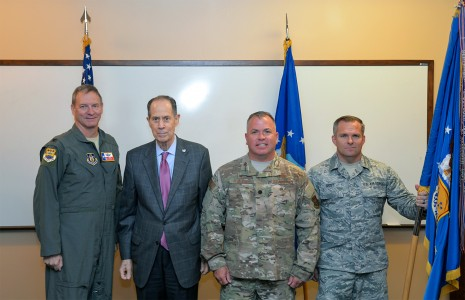 433rd Maintenance Group inducts honorary commander