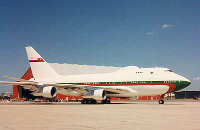 DHC Head of State Aircraft