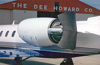 DHC Thrust Reverser GE-CJ-610 Jet Engine