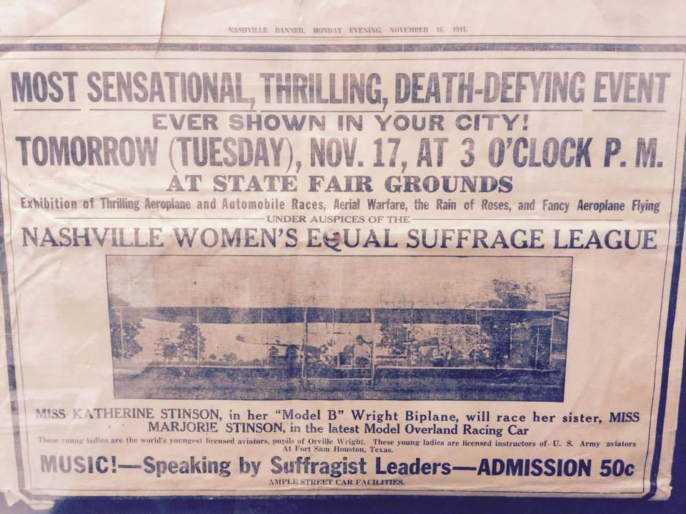 Stinson Girls in the News, 1914